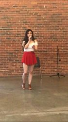 Canada Day Solo Singing