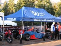 Indy Car on display