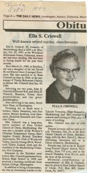 Criswell, Ella Summers 1997