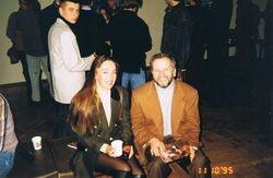 Nika with N.Selischuk, Minsk, Belarus, 1996