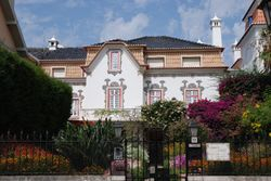 One of the beautiful houses in Cascais