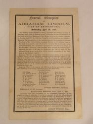 Funeral Obsequies of Abraham Lincoln