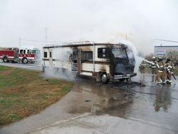 Camper Fire, 2000 Block NE 46th Ave, 10-11-11