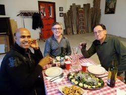 Hector, Patxi and Enrique