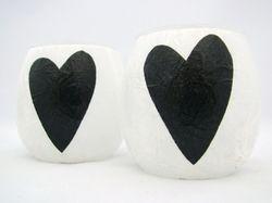 White and Black Folk Heart