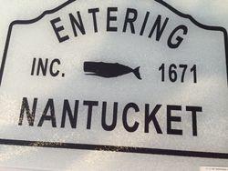 Entering Nantucket cutting board