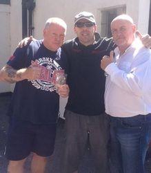 Bob Barrat, Ian Wilshaw & Keith Myatt