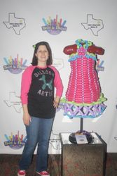 1st dress ever, made Feb 2016 at Twist & Shout Balloon Convention