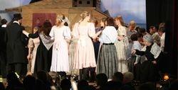 The wedding dance - men and women dance separately