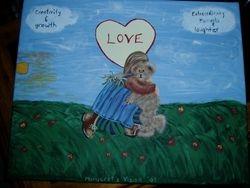 Margret loves to do Art work too!