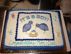Its a boy Cake