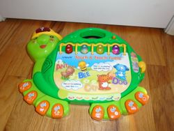 VTech Touch and Teach Turtle Book - $10