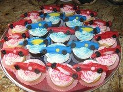 Matchbox Cars Cupcakes