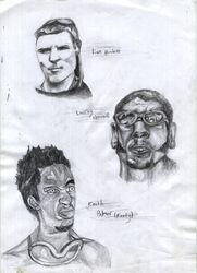 Laim Howlett, Leeroy Thornhill, Keith Palmer