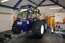 Talus Launch Tractor