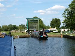 Cogenhoe Lock