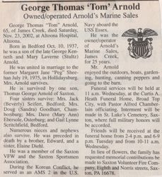 Arnold, George Thomas 2002