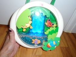 Fisher Price Rainforest Waterfall Peek-a-Boo Soother - $25