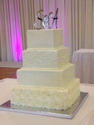 """""""Rosette Wedding Cake"""""""