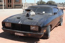 Mad Max Vehicle on Display at the Silverton Hotel