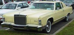 8.79 Lincoln town car.