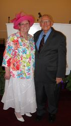 Sr. Pastor and Sis. Bishop
