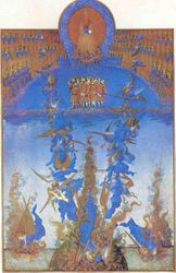 Limbourg Brothers, Fall of the Rebel Angels, Tres Riches Heures of Jean, Duc de Berri