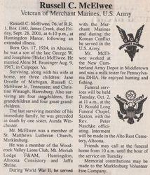 McElwee, Russell C. 2001