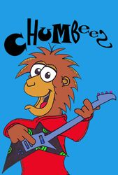 Chumbees plays bass