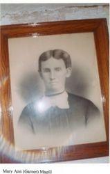 Mary Ann (Garner) Magill (1841-1899)
