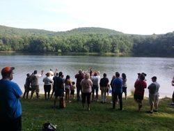 Baptism at Tuscarora State Park summer 2014