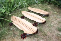 Three Casidhe Longboards