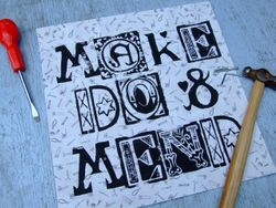 'Make Do & Mend' poster