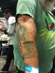 Extreme Jim Henson Fan Right Arm