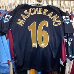 Javier Mascherano 2006-07 away Premier League shirt