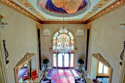 Front Foyer and hand-painted dome ceiling