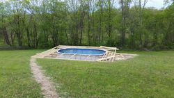 Above Ground Pool Frame 1