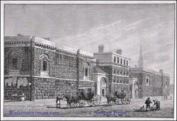 Newgate Prison. c1780.