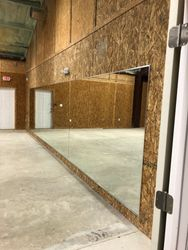 25 FT mirror wall with chrome J and L