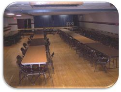 Dining Hall, undecorated