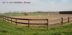 Outdoor Arena 100' x 200'