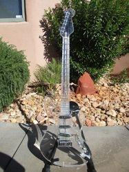 Aria Pro Skeleton Acrylic Guitar