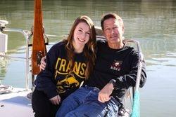 """Captain John """"Jack"""" with Daughter Sarah"""
