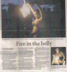 Fire in the Belly article