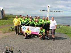 John O'Groats & mad Scouse cyclists