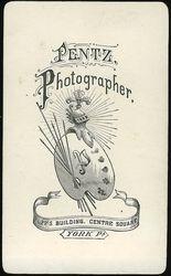 Pentz, photographer of York, PA - back