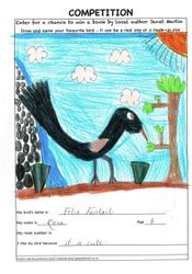 FELIX FANTAIL by ROSA aged 6