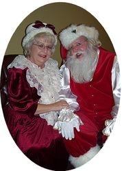 Santa and Mrs. Claus 2009