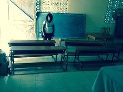 Lucille à l'École Saint-Joseph