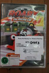 Roary the racing car DVD